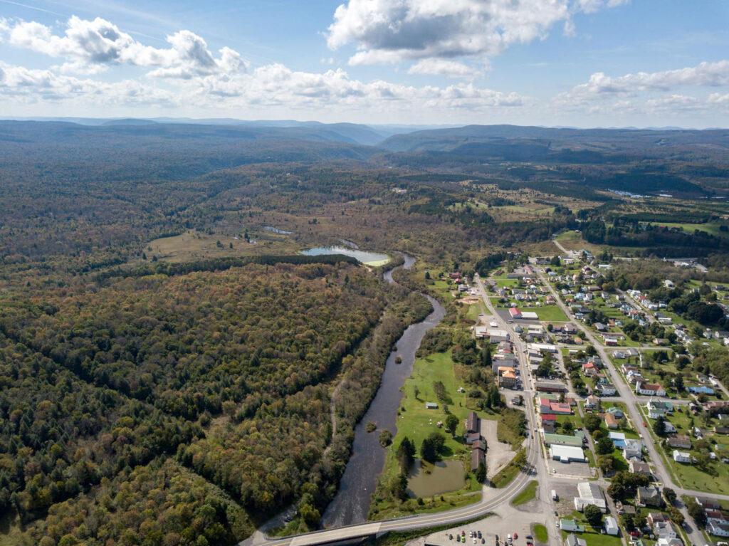 Davis-West-Virginia---Davis-Riverwalk-drone1